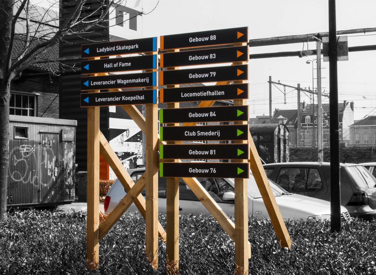 Bewegwijzering Spoorzone Tilburg_02
