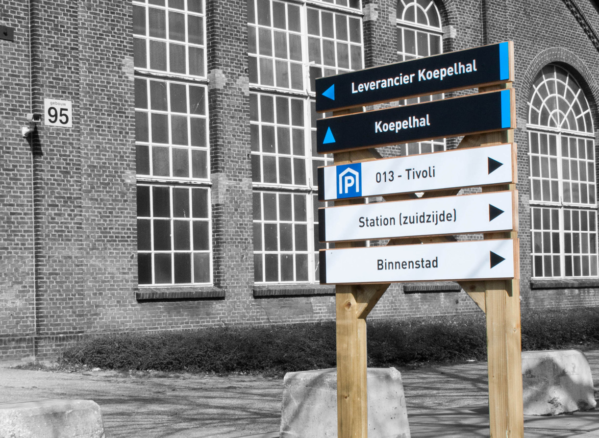 Bewegwijzering Spoorzone Tilburg_13