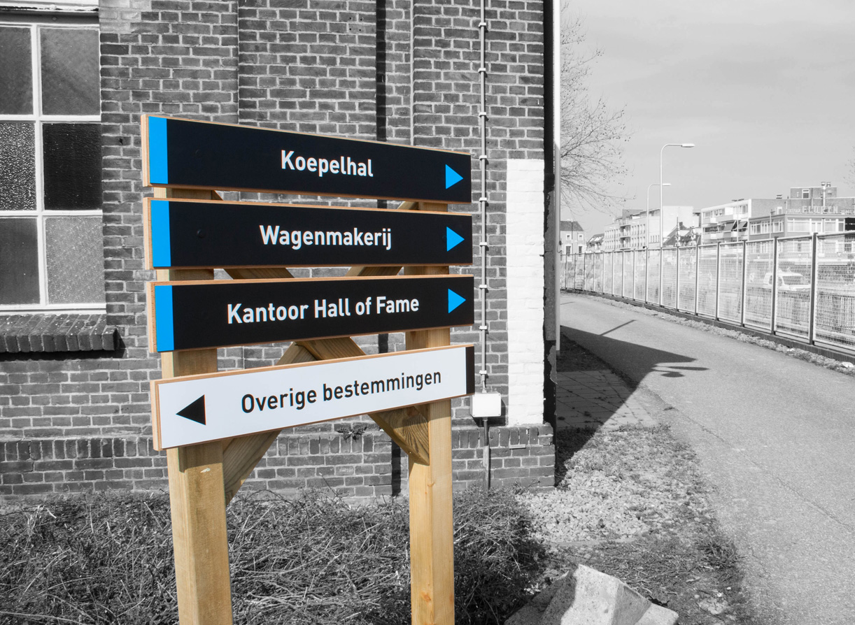 Bewegwijzering Spoorzone Tilburg_14